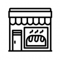 Bakery Shop Icon