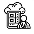 Cloud Kitchen Management Icon