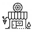 Pizzeria Shop Icon